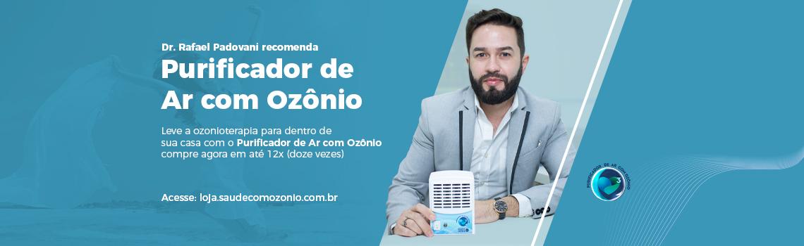 Dr Rafael recomenda Purificador de Ar com Ozônio