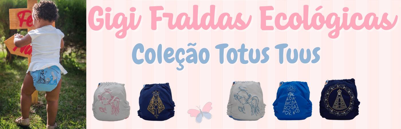 Gigi Fraldas de Pano - Totus Tuus