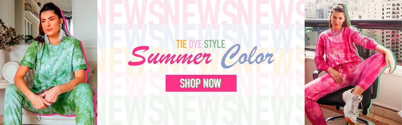 SUMMER COLOR - TIE DYE STYLE