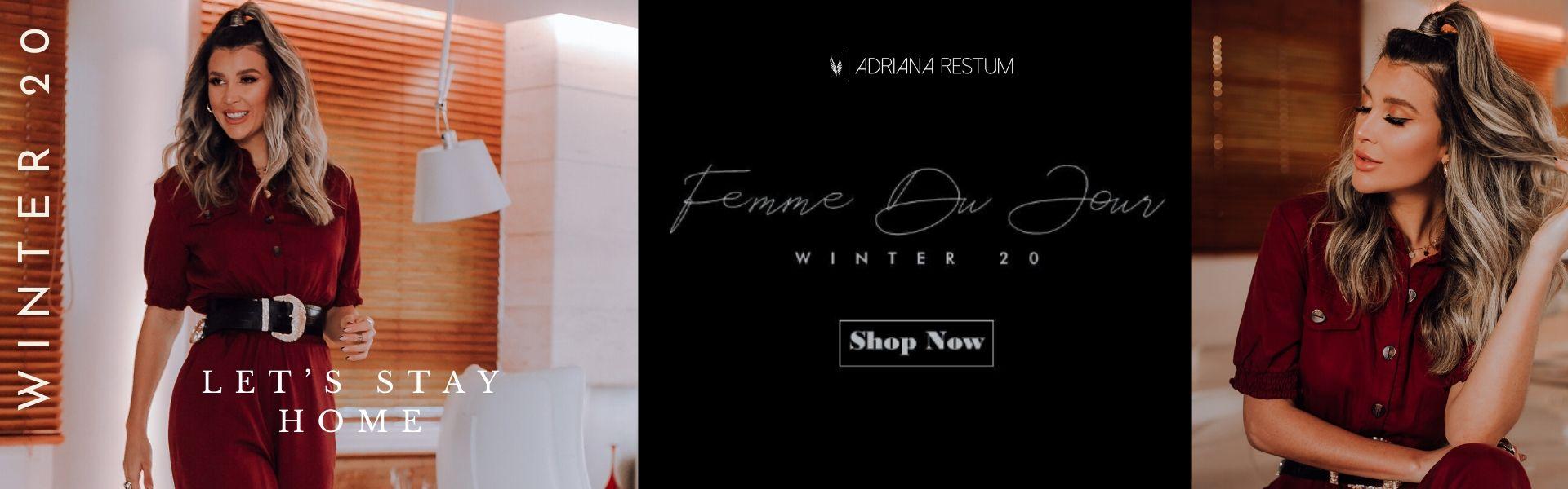 Coleção inverno-  Fumme Du Jour