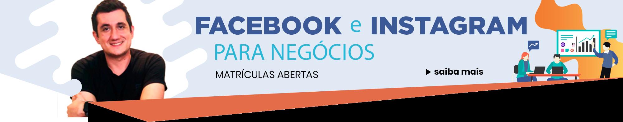 Home - Facebook e Instagram para Negócio