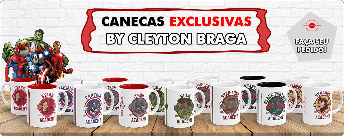 Canecas By Cleyton Braga