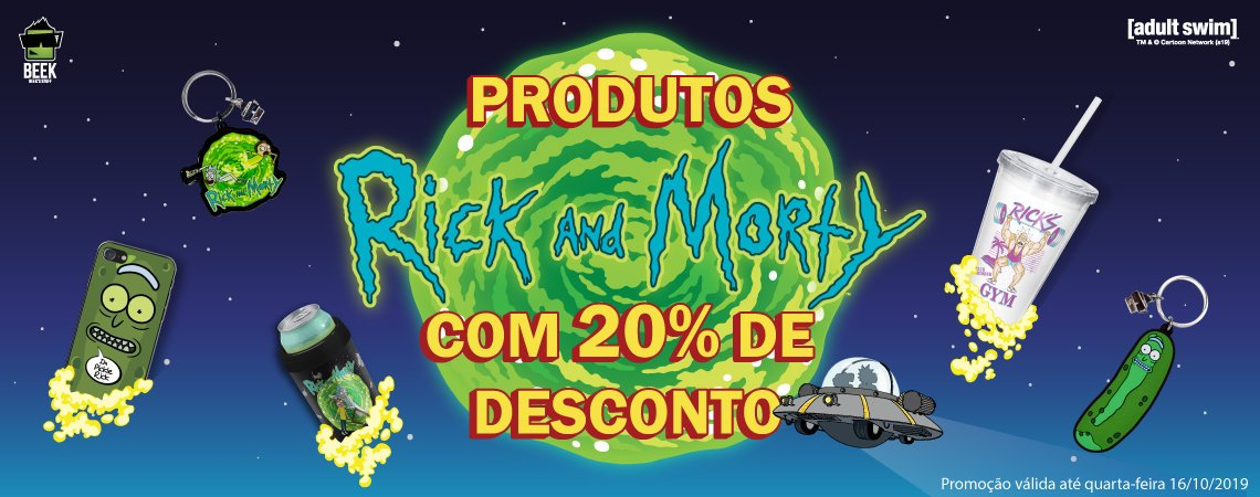 Rick and Morty 20% OFF