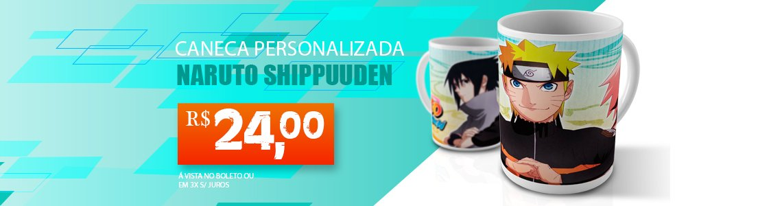 Caneca Naruto Shippunden