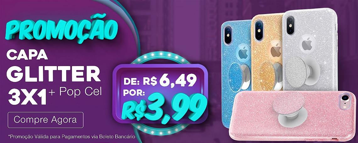 Promo Capa Glitter 3x1