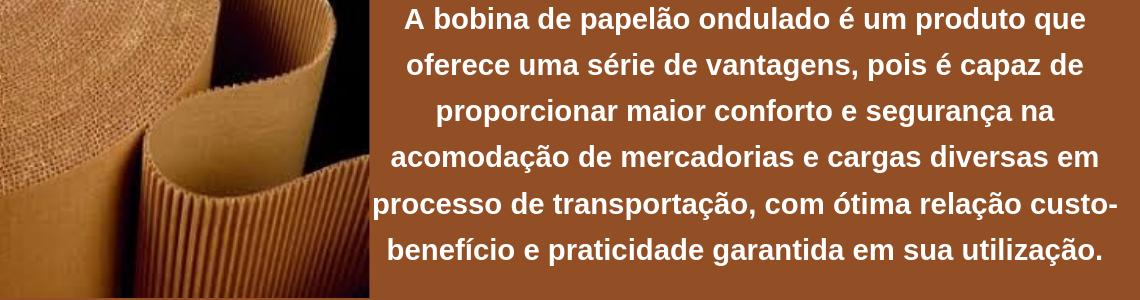 BOBINA PAPELÃO ONDULADO