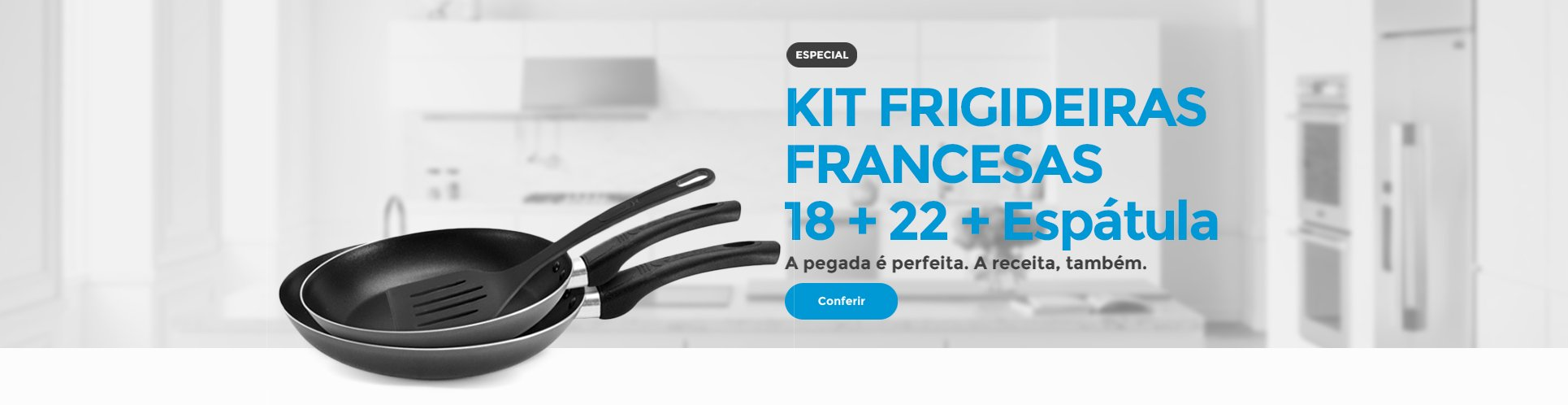 Kit Frigideira Francesa