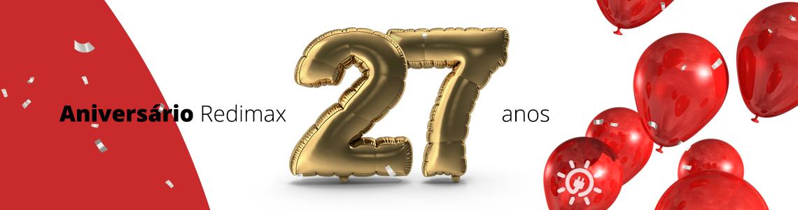 27 anos Redimax