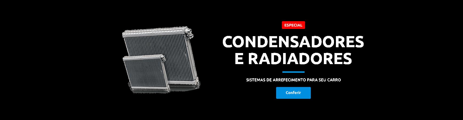 Condessadores e radiadores