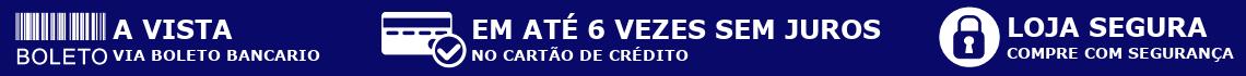 Tarja Azul Claro Branco