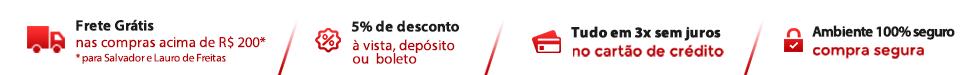 EPI - Equipamento de Protecao Individual e Lixeiras para coleta seletiva, frete gratis, Grande Salvador