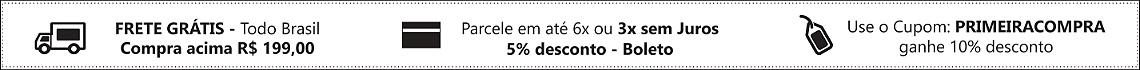 TARJA CINZA CUPOM PRIMEIRA COMPRA 10%