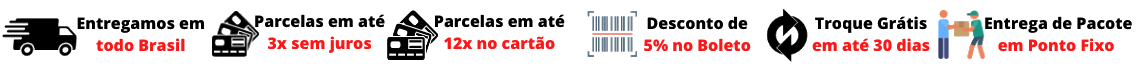 Banner Tarja transparente entrega pessoalmente