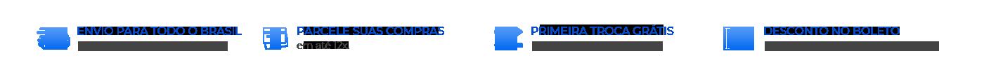 Tarja Informações de Pagamento