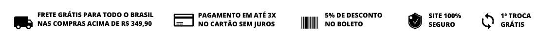 banner informativo condições do site