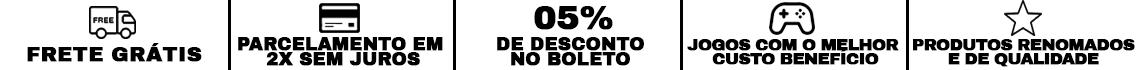 frete G|2X SEM JUROS | 5% | CUSTO BENE| RENOMADO