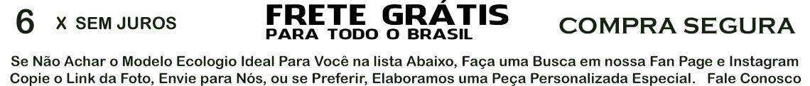 FRETE GRÁTIS 6X SEM JUROS