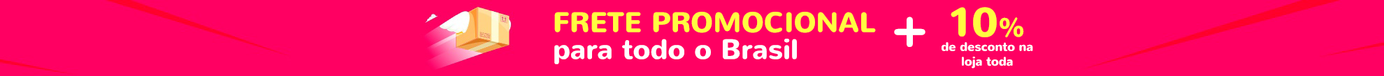 Frete Promocional de Produtos
