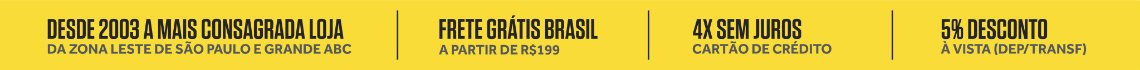 Banner Tarja 2018 fundo amarelo