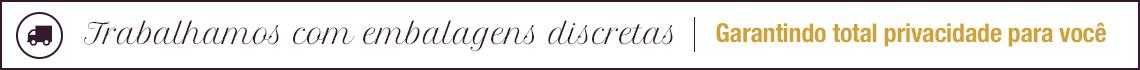 Embalagens discretas | Garantindo total privacidade para você