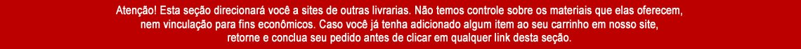 AVISO LIVRARIAS PARCEIRAS