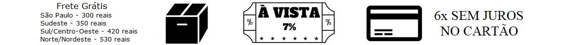 Frete - A Vista - Parcelas