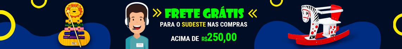 Frete Grátis R$250