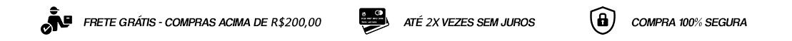 Tarja - Frete - Cartão e Segurança