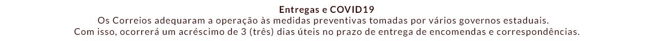 Entregas e COVID19