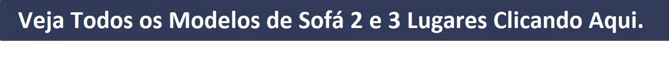 Sofá 3 lugares Banner Tarja