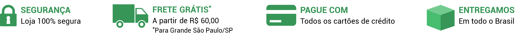 Banner em tarja