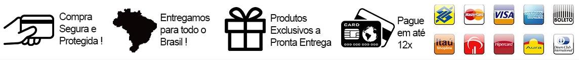 Tarja de Pagamentos e Entregas