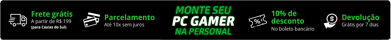 Tarja Detalhamento Gamer