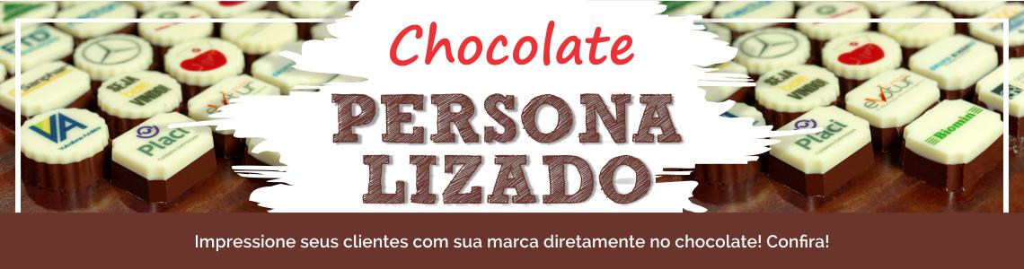 Banner chocolate personalizado