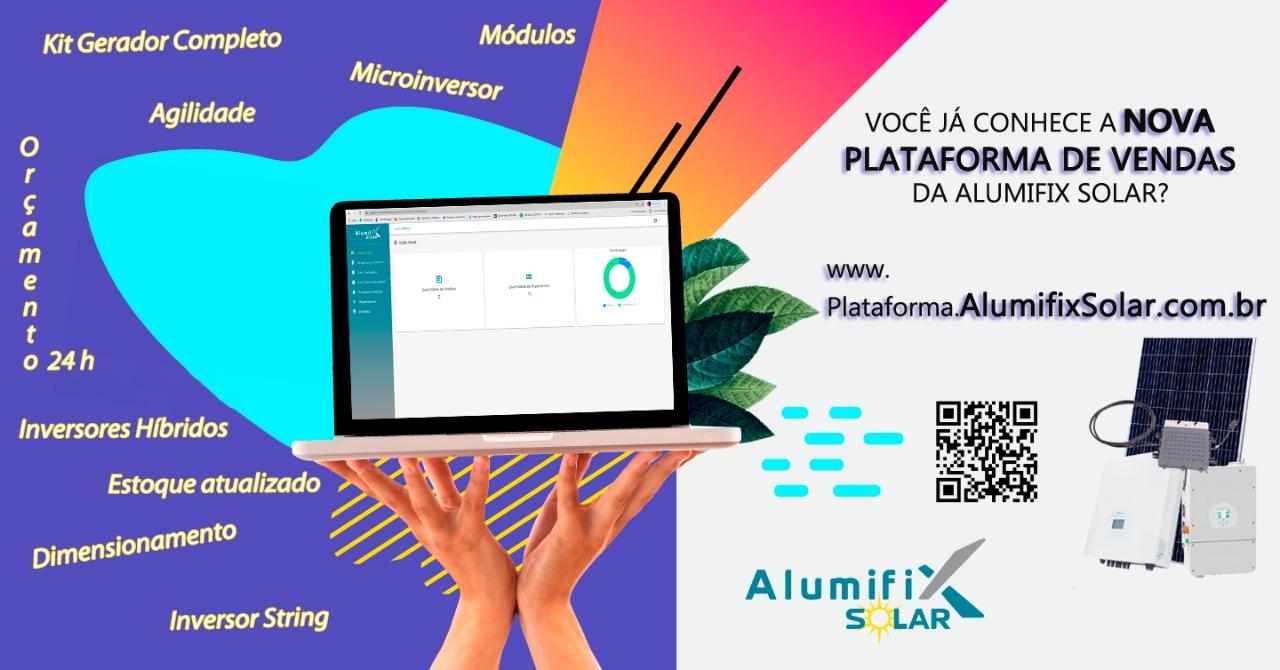 Nova plataforma Alumifix Solar
