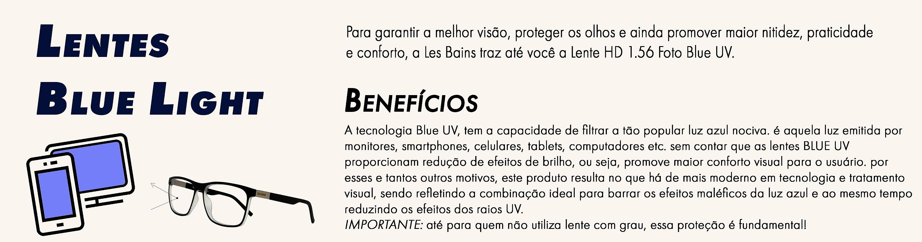 Lente Blue Light