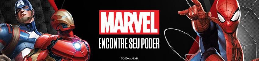 Marvel vitrine da categoria
