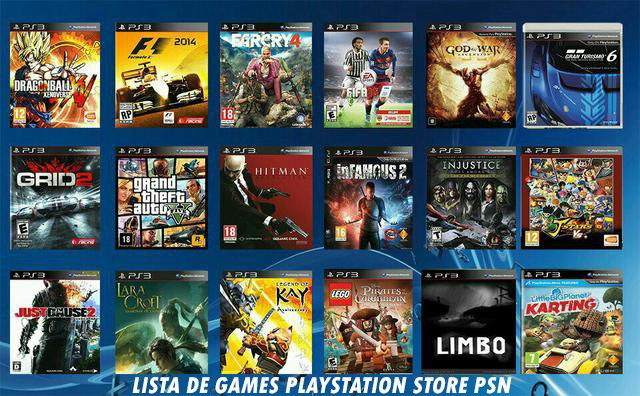 MIDIAS DIGITAIS PLAYSTATION STORE
