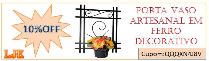 Portas Vasos Artesanal Em Ferro Decorativos