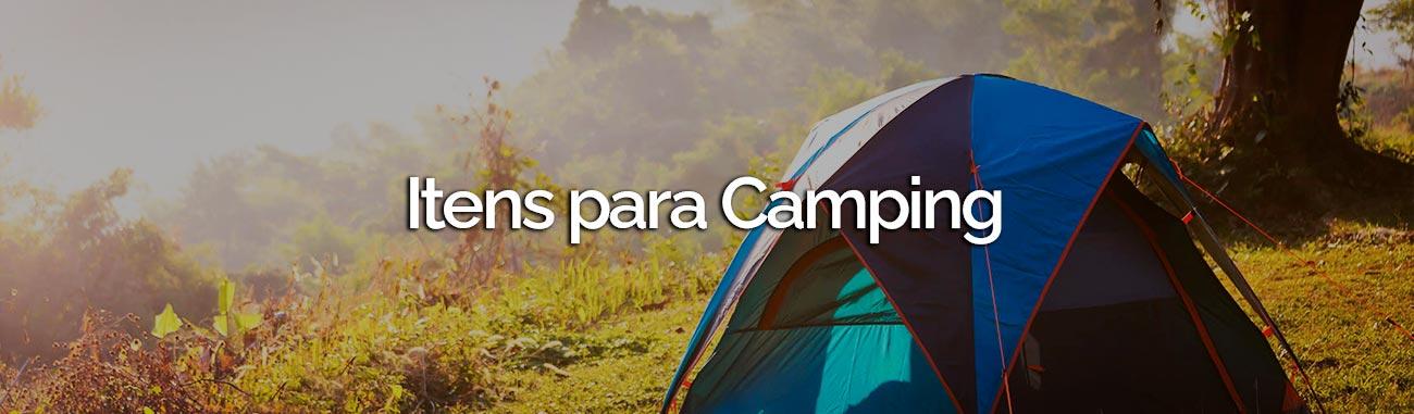 Itens para camping