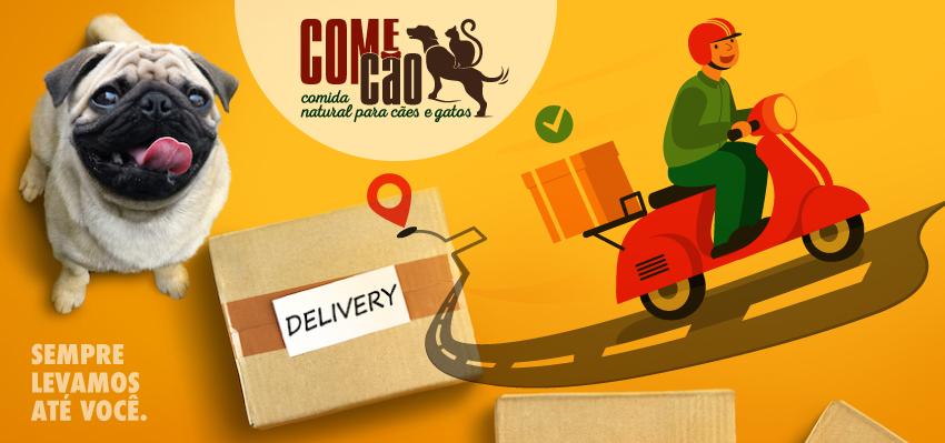 Delivery comida natural para pets