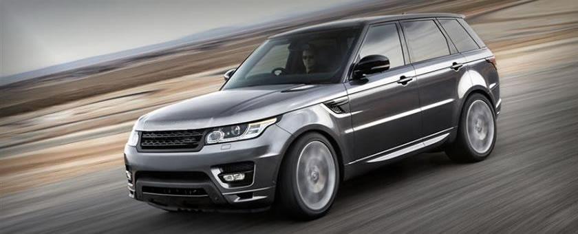 Vitrine Land Rover