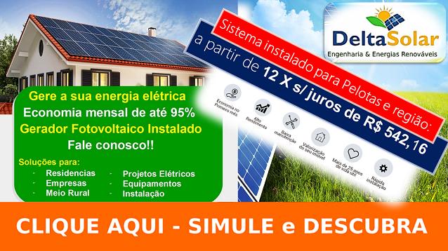 Kits fotovoltaicos conectados à rede 2 módulos