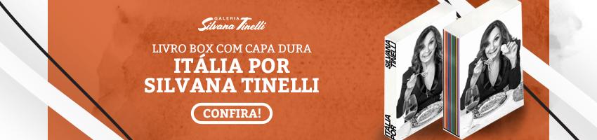 Livro - Italia por Silvana Tinelli