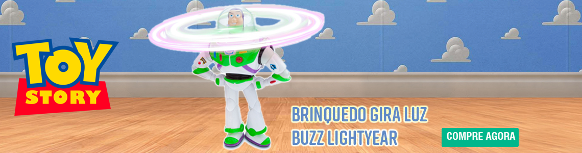Gira Luz Buzz Lightyear Toy Story