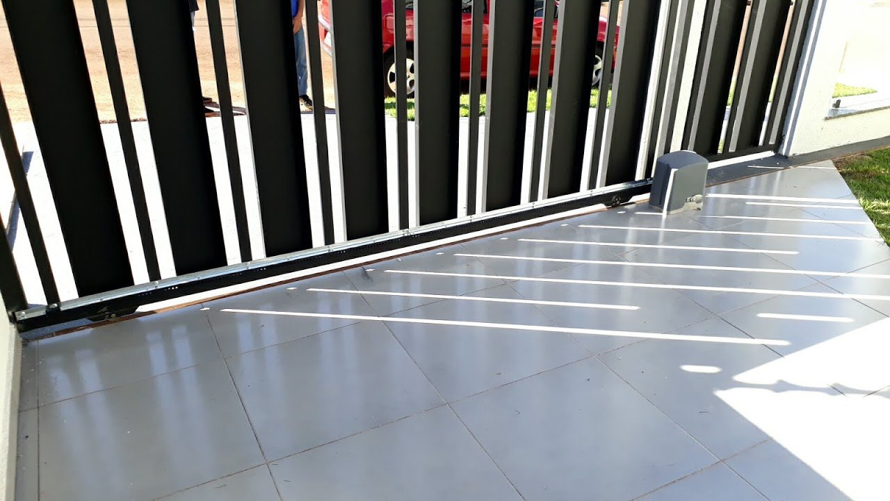 portão  eletrônico deslizante
