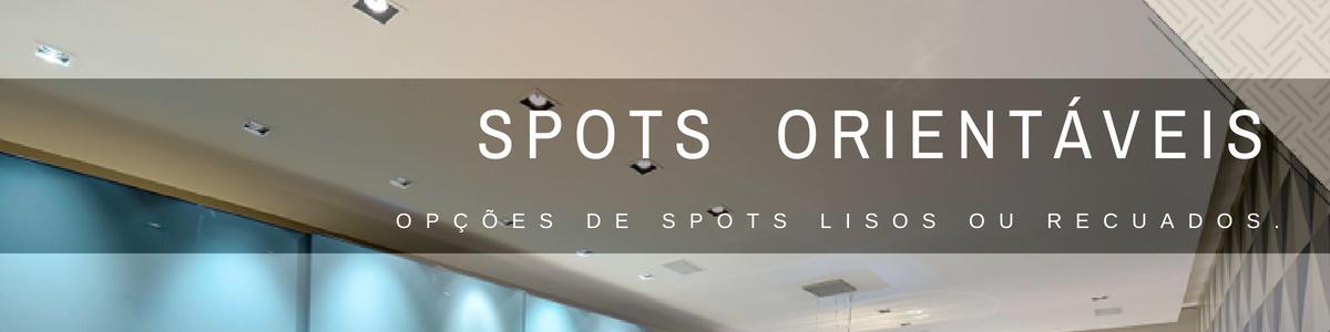 spots orientáveis