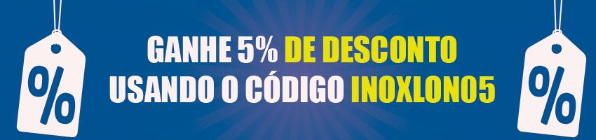 desconto 5%