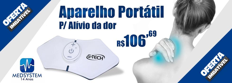 Tens Portátil Alívio Já - GTECH
