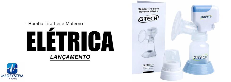 Bomba Tira-Leite Materno Elétrica - G-Tech